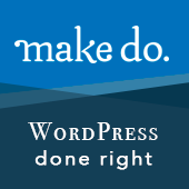 Make Do - Professional WordPress agency